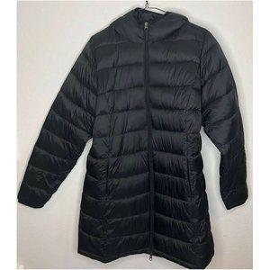 amazon essentials black puffer jacket water NWOT
